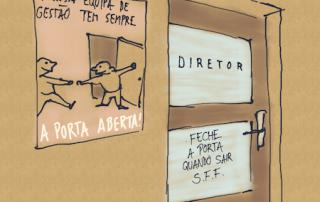 Cartoon: mensagens contraditórias